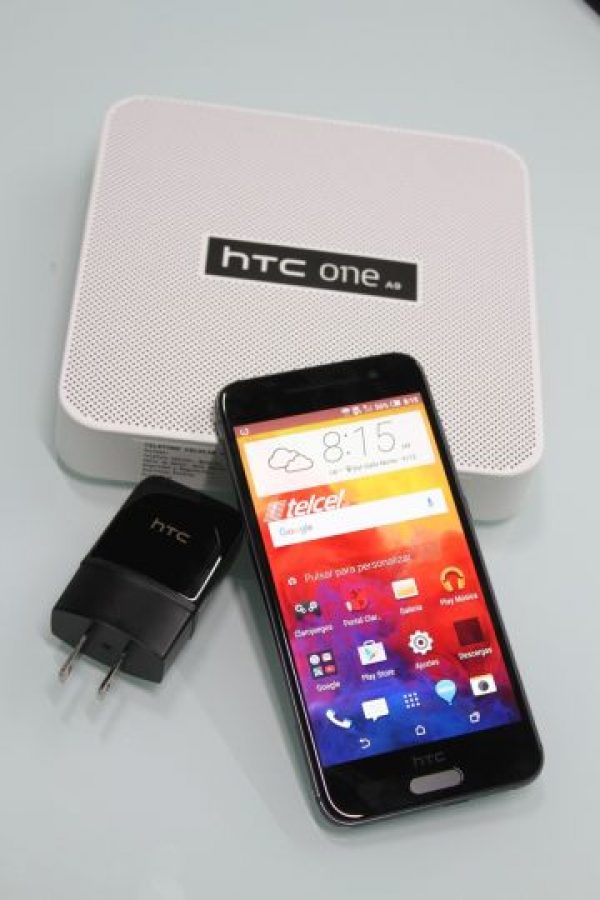 Cámara frontal HTC UltraPíxel. Foto:Nicolás Corte