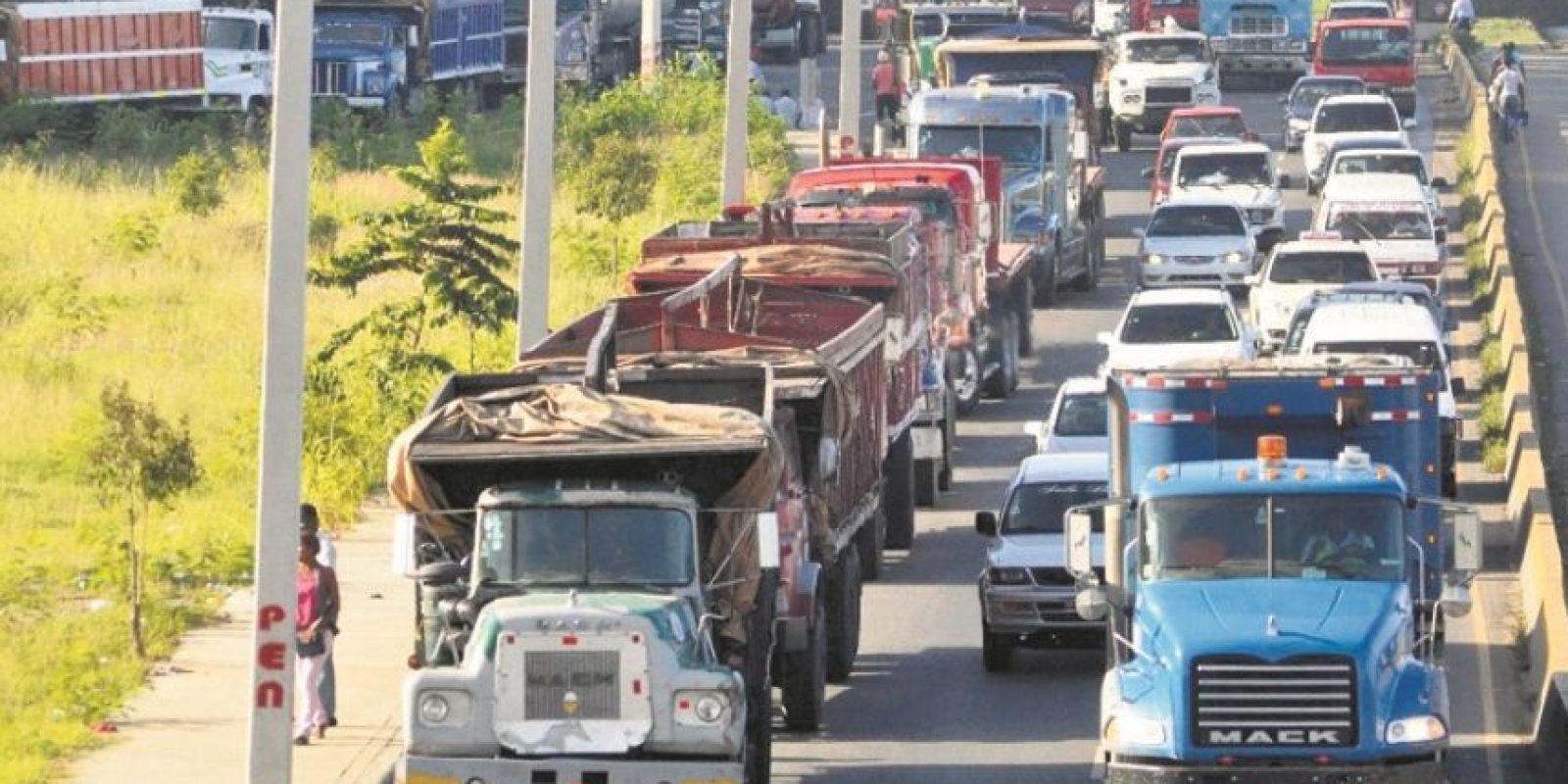Los vehículos pesados no podrán circular Foto:Archivo