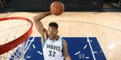 Karl Towns irrumpe con fuerza en la NBA