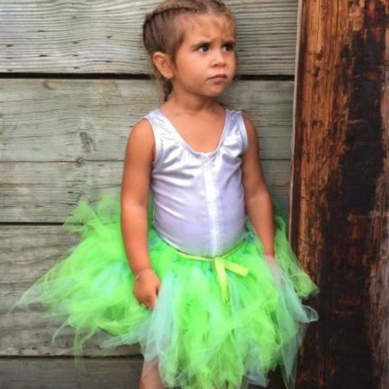 Como muchas niñas es fan de las princesas de Disney Foto:Instagram/kourtneykardash