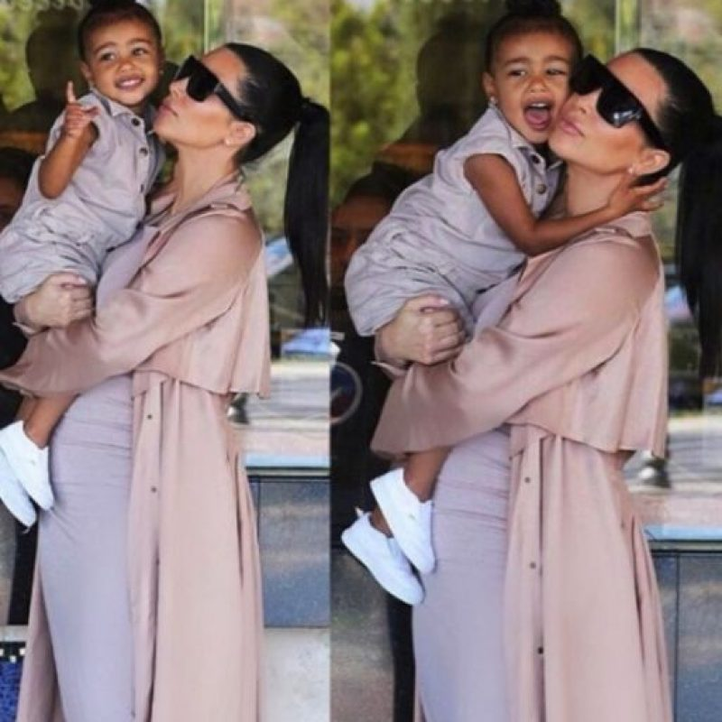 Y su clóset es tan caro y glamouroso como el de su madre. Foto:Instagram/kimkardashian