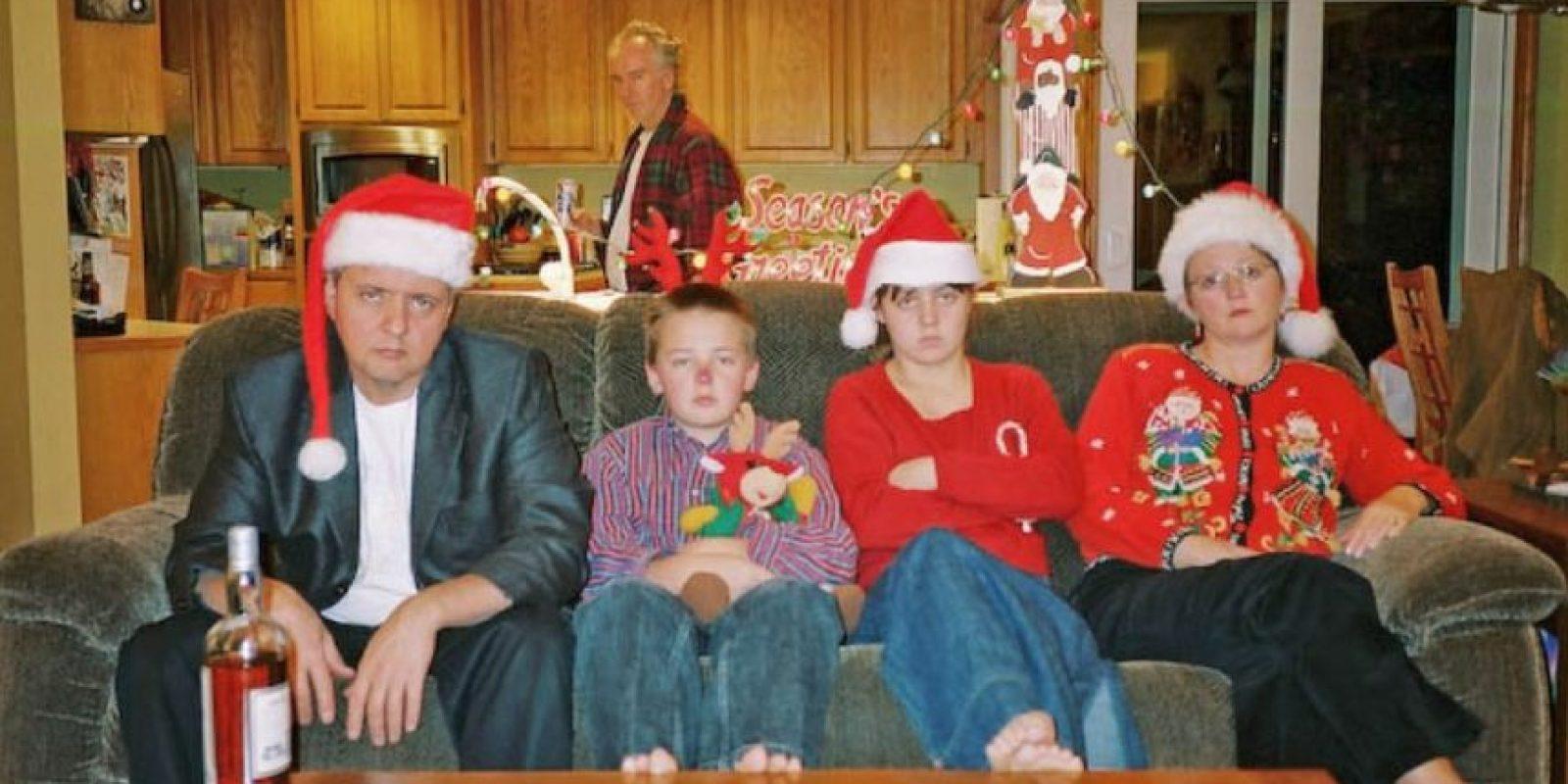 Ellos también odian su vida. Foto:Awkward Family Photos