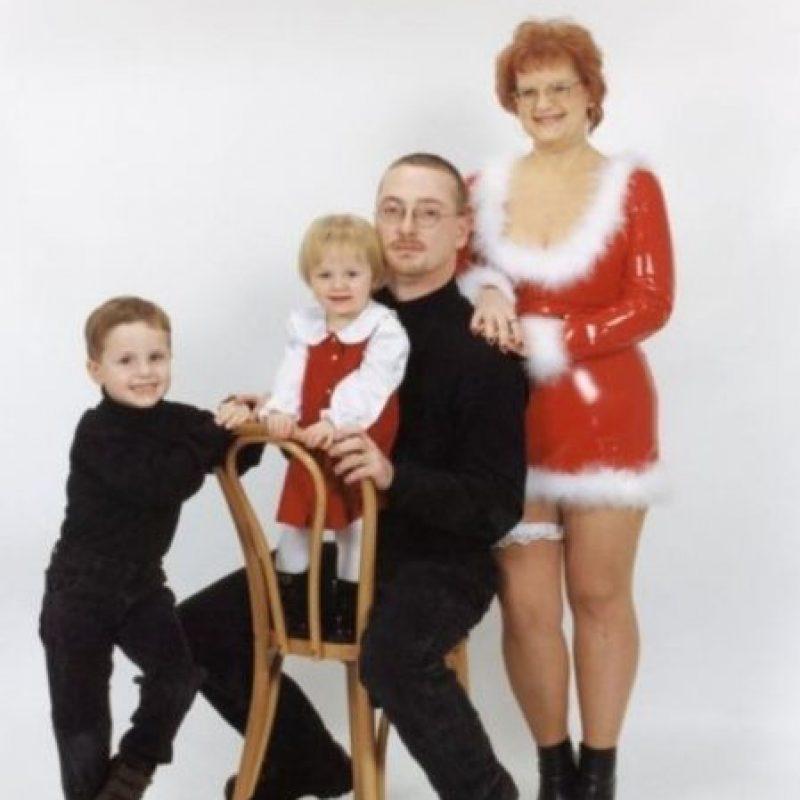 Listos para el show de Broadway Foto:Awkward Family Photos