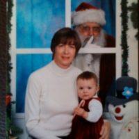Santa da miedo. Foto:Awkward Family Photos