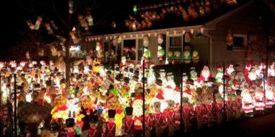 La legión de Santas dispuestos a dominar el mundo. Foto:Imgur