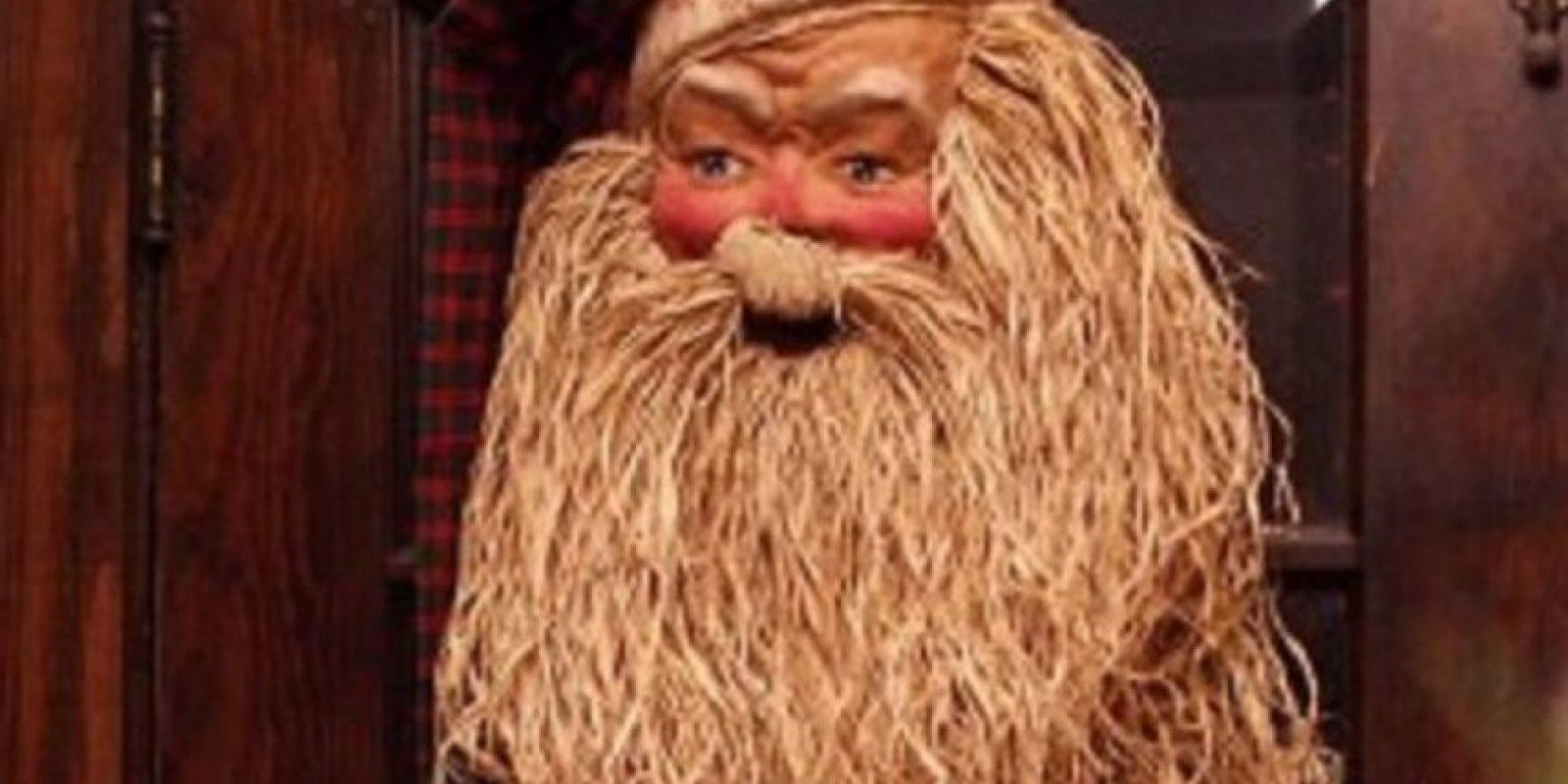 Santa necesita un baño. Foto:Imgur