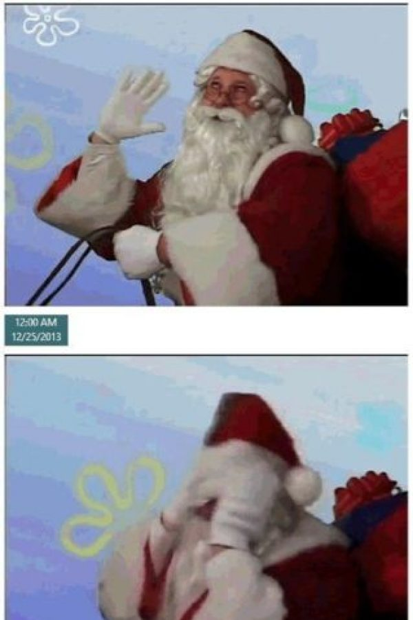 Un día de trabajo con Santa Foto: Know Your Meme