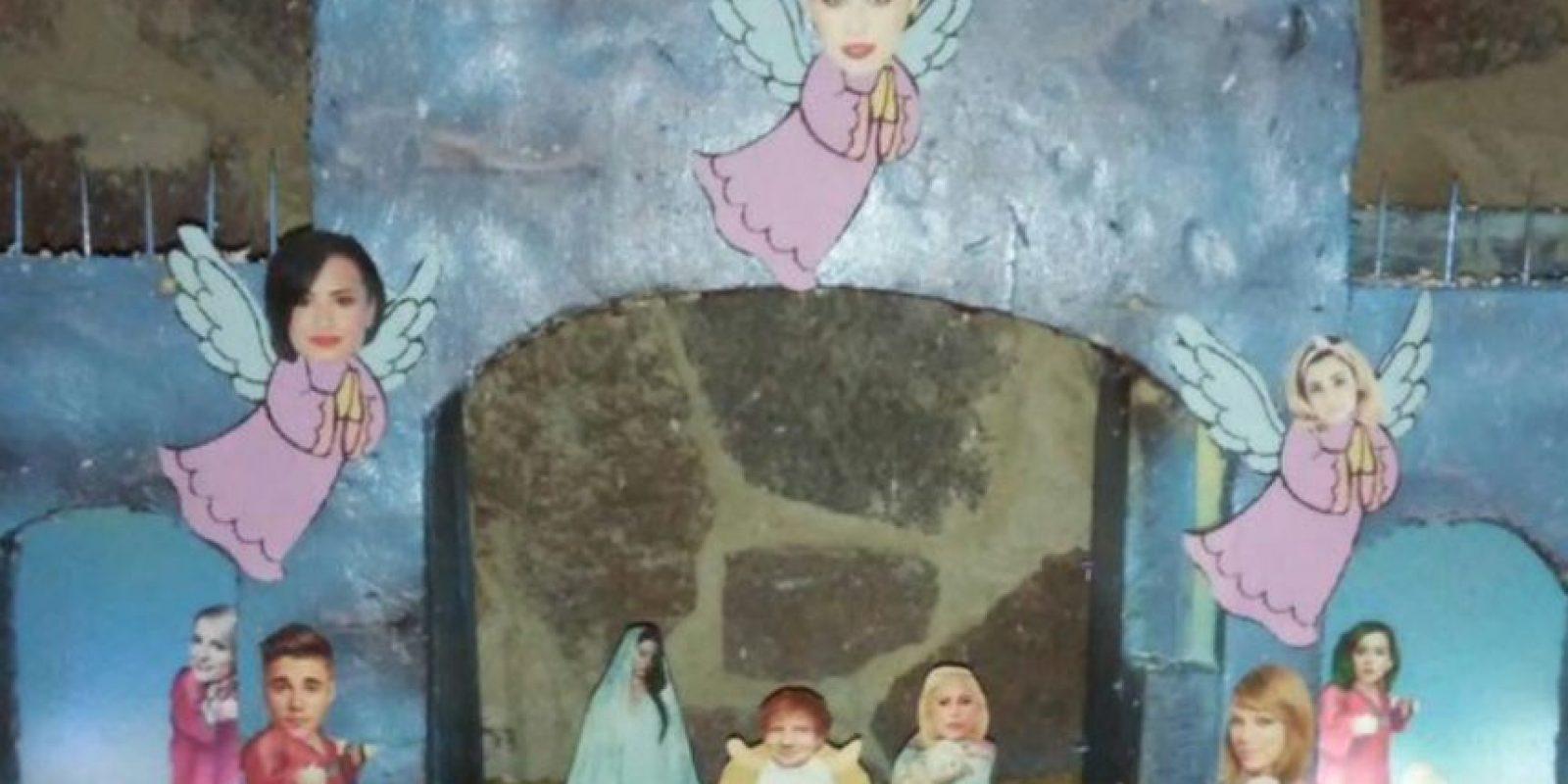 En algunos casos usaron personalidades conocidas como Miley Cyrus, para reir de la propuesta. Foto:Vía Twitter