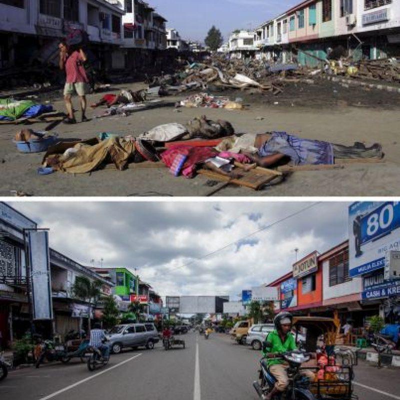Imagen tomada en Bahía de Aceh, Indonesia Foto:Getty Images