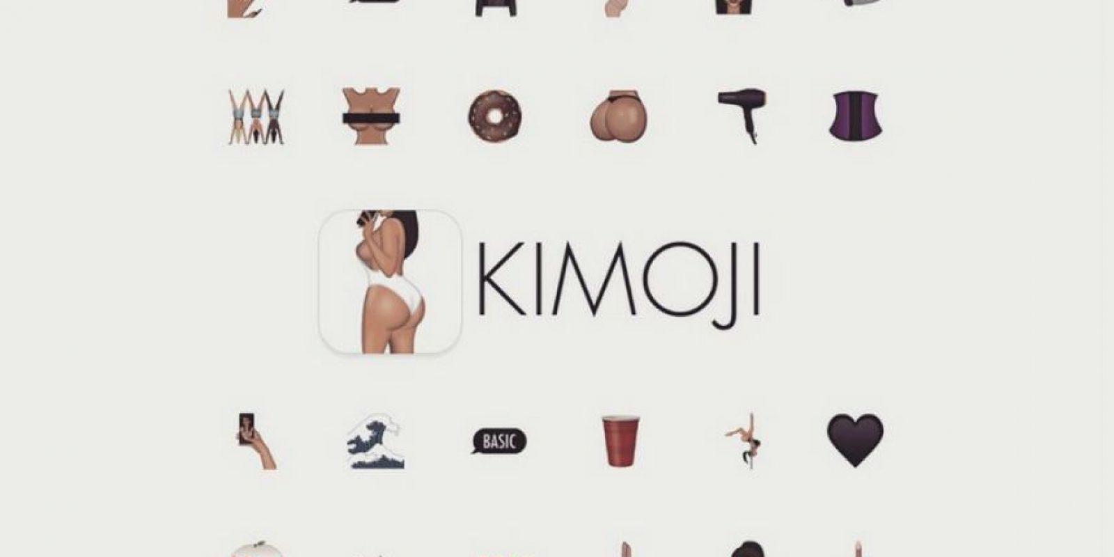 """""""Kimoji"""" está disponible en la App Store por 1.99 dólares. Foto:App Store"""