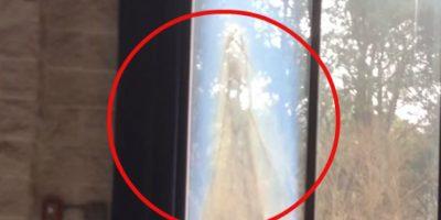 Aseguran que la Virgen María apareció en la ventana de una iglesia