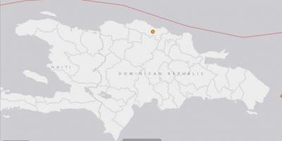 Reportan un temblor en la zona norte del país