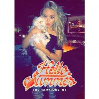 Este verano ha aparecido en la exclusiva zona de Nueva York llamada Los Hamptons Foto:Instagram.com/TiffanyTrump