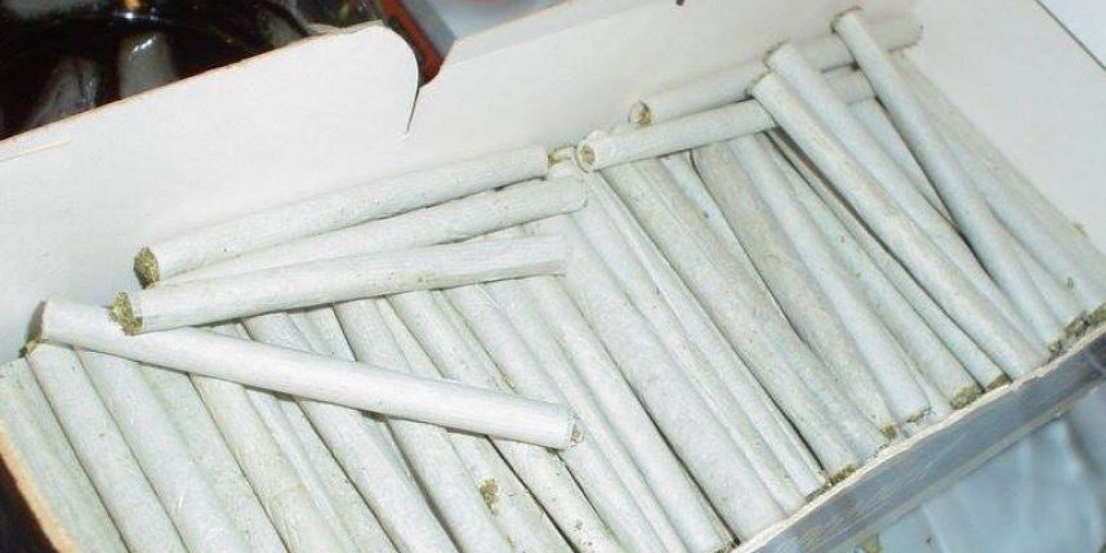 """Así fue como la organización """"Cannabis Can"""" preparó sus regalos Foto:Facebook.com/pot4people/"""