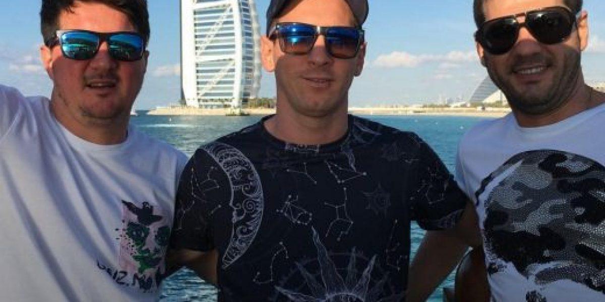 Fotos: Lionel Messi disfruta de Dubai junto a sus hermanos