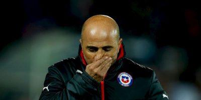 Jorge Sampaoli, entrenador de Chile. Foto:vía Twitter.com