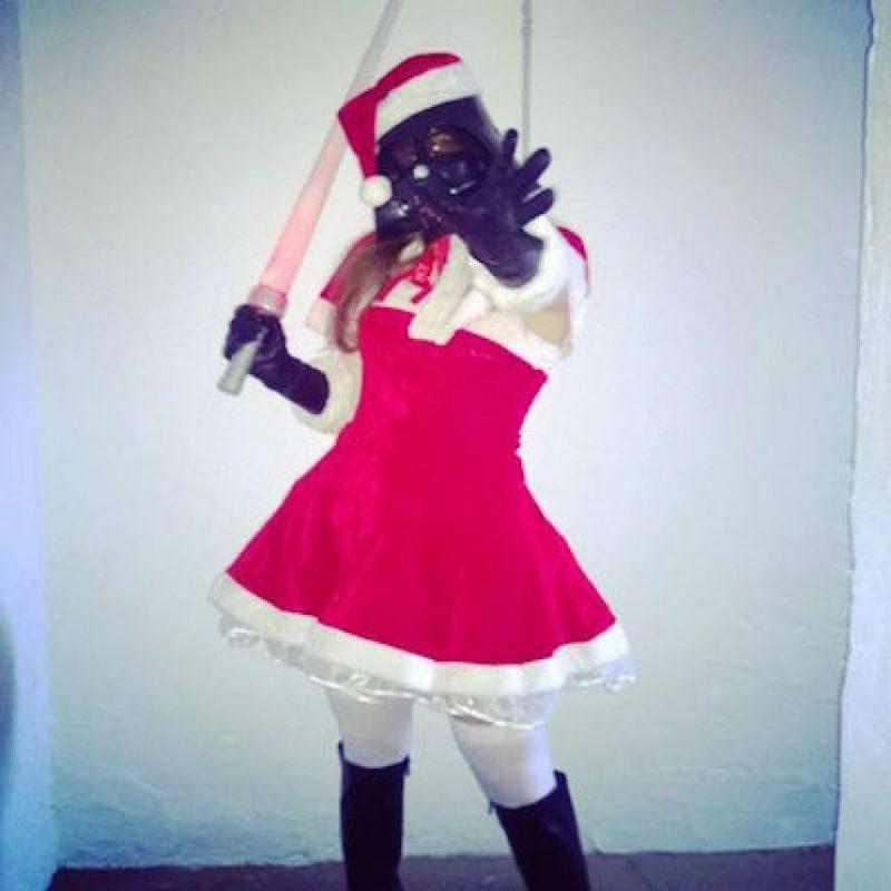 También aprovecharon para celebrar Navidad Foto:Instagram.com