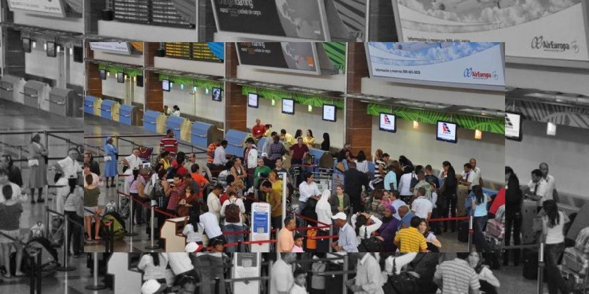 Cifra de pasajeros por aeropuertos del país alcanzó 12,3 millones este año