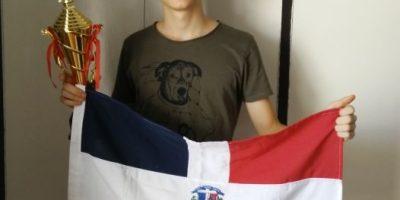 Joven dominicano gana Medalla de Plata en Ajedrez Escolar