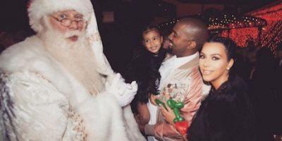 Kim Kardashian comparte adorables fotos de la fiesta de Navidad