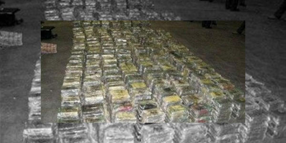 Hallan en España casi 100 kilos de cocaína procedentes de la R. Dominicana