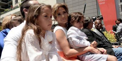 Pero es común verlos en alfombras rojas y eventos públicos con su mamá. Foto:Getty Images