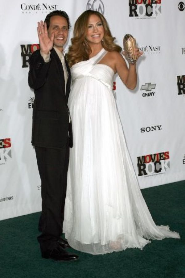 Max y Emme son los hijos de Jennifer López y el cantante Marc Anthony. Foto:Getty Images