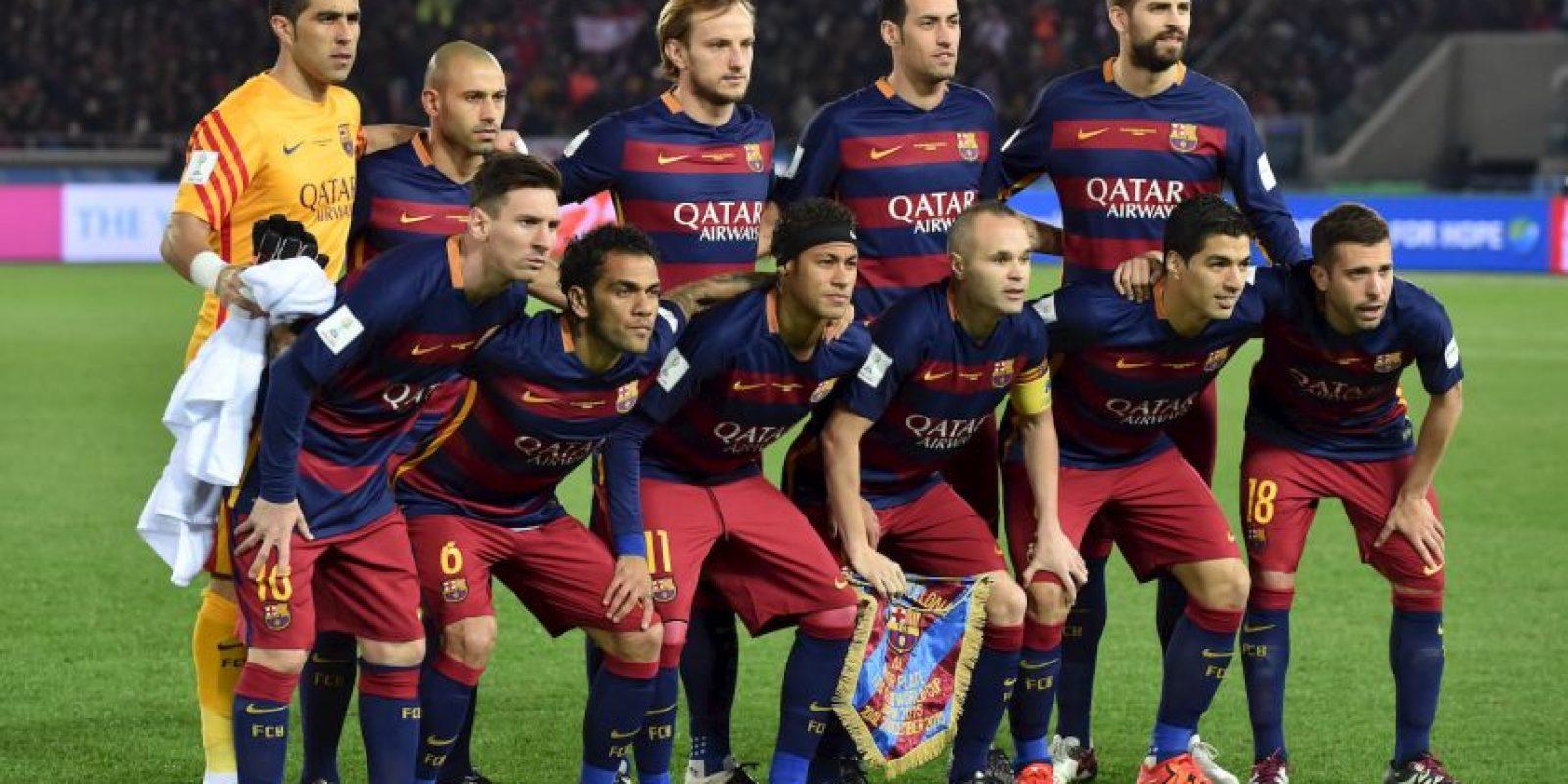 3. Barcelona se lleva cinco títulos. El Mundial de Clubes fue el cierre con broche de oro; solo perdieron la Supercopa de España ante el Atheltic de Bilbao Foto:Getty Images