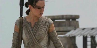 """Fue elegida para interpretar a """"Rey"""" en la película """"Star Wars: El despertar de la fuerza"""" Foto:IMDB"""