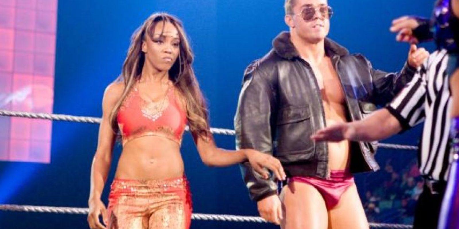 Alicia Fox. Peleó por primera vez en ECW, el 6 de junio de 2009 Foto:WWE