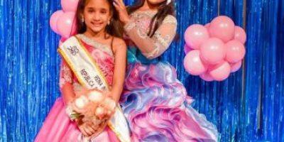 Enhorabuena para Shanell Carolina Florentino, la nueva Reina Infantil de RD