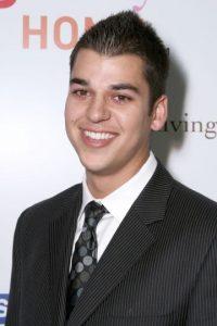 Así lucía Rob Kardashian en 2007 Foto:Getty Images