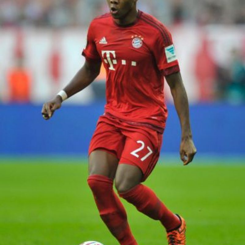 David Alaba (Austria, Bayern Múnich) Foto: Getty Images