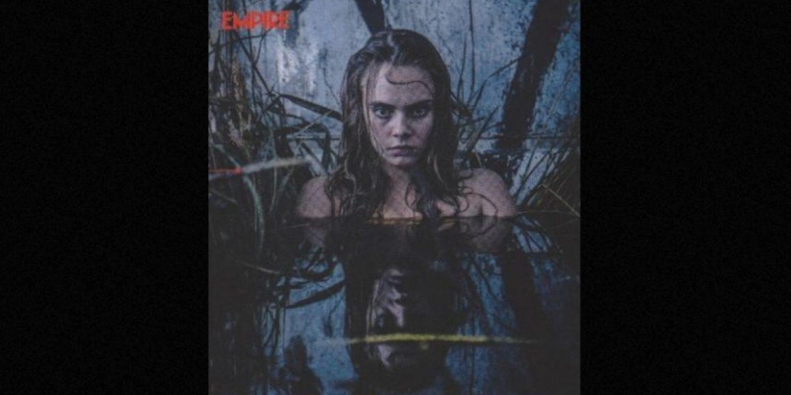 """""""June es una buscadora de aventuras que siempre ha querido un poco de emoción. Al comienzo de la película descubre una cueva y encuentra algo en su interior"""" Foto:""""Empire Magazine"""""""