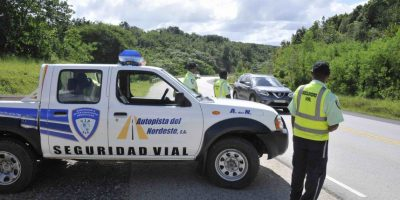 Operativo de prevención en autopista a Samaná y noreste por fin semana largo