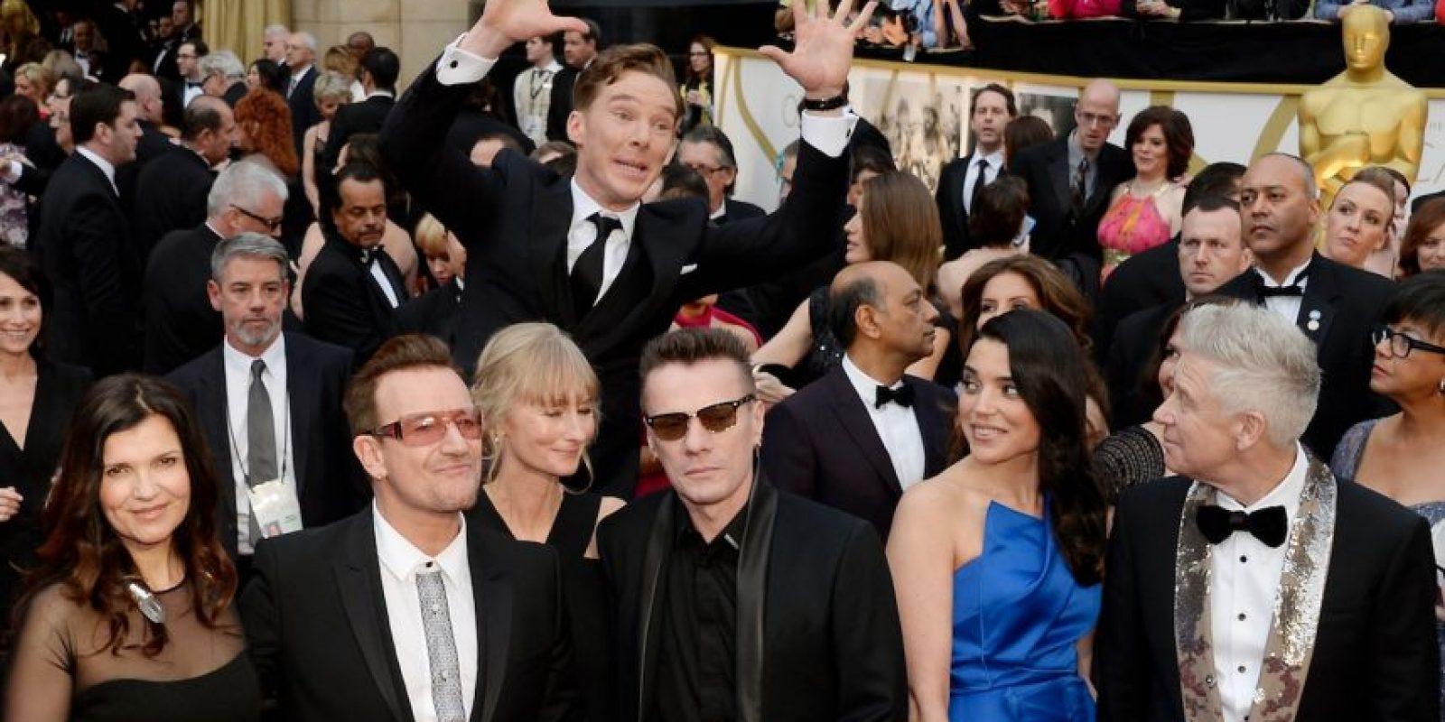 Benedict Cumberbatch opacando a este grupo de estrellas Foto:Getty Images