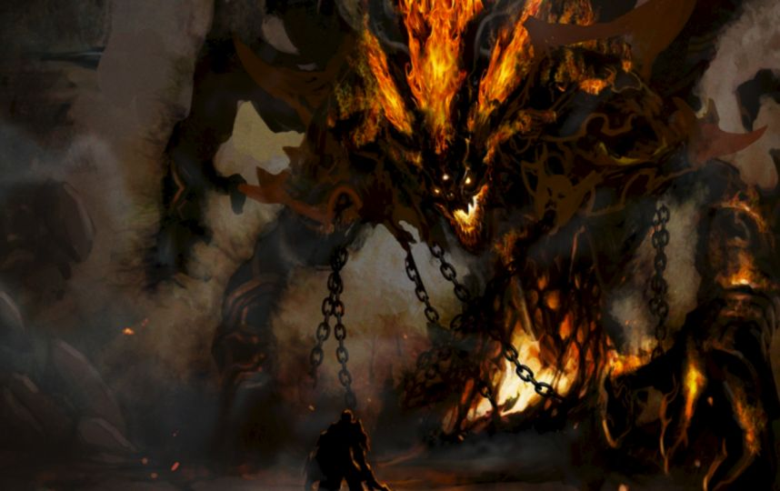 En la demonología hay diversas jerarquías de demonios. Ángeles caídos, espíritus humanos en desgracia y otros entes de tipo maligno. Foto:Tumblr