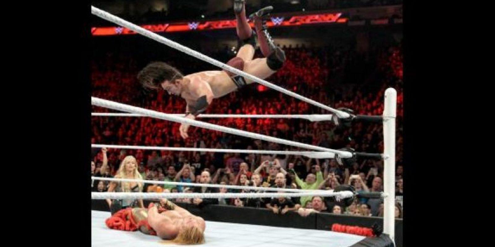 Ganó 38 peleas y perdió 22 Foto:WWE