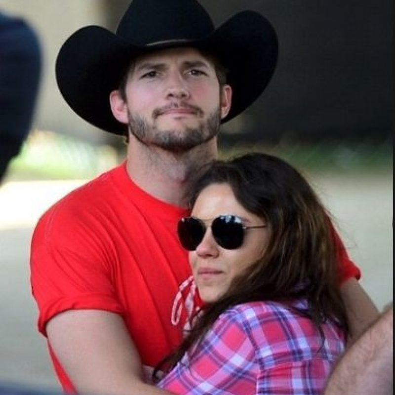 Ashton Kutcher y Mila Kunis Foto:Getty Images