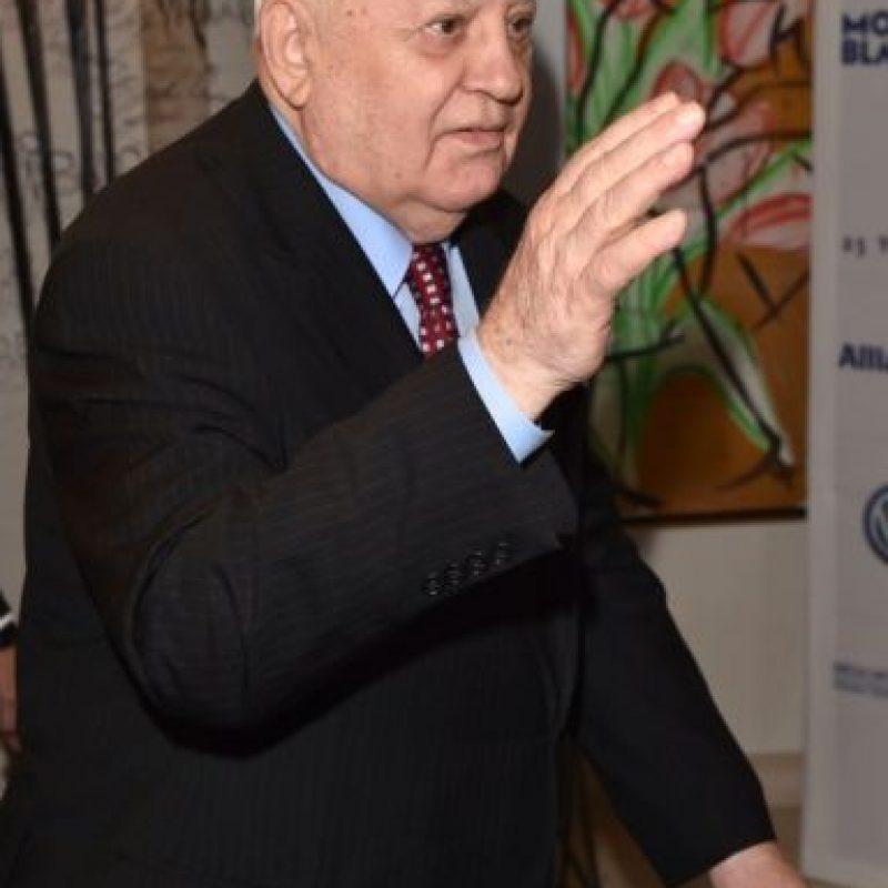 5. Mikhail Gorbachev Foto:Getty Images