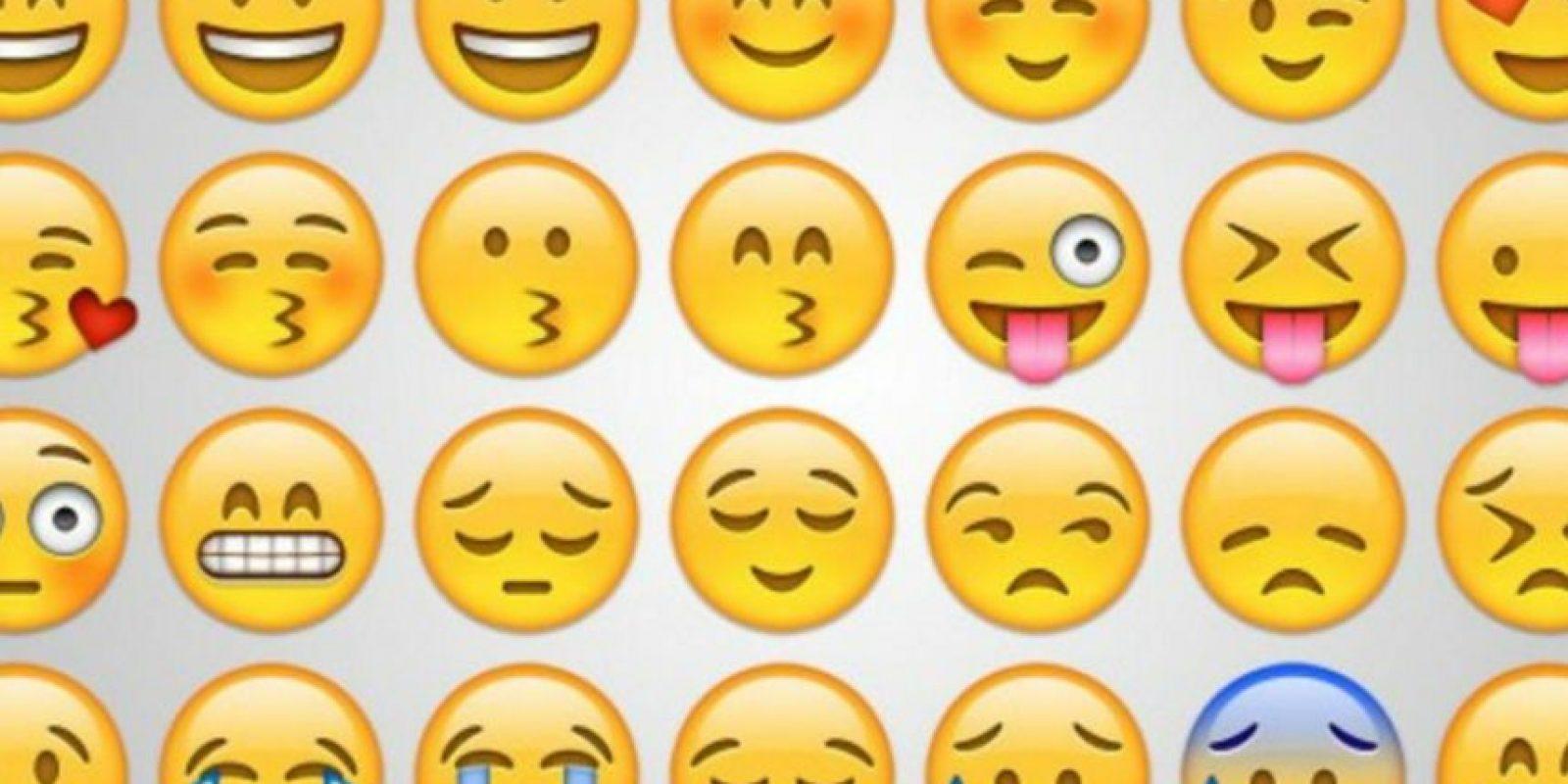 Los emojis siguen gozando de su popularidad. Foto:vía Pinterest.com