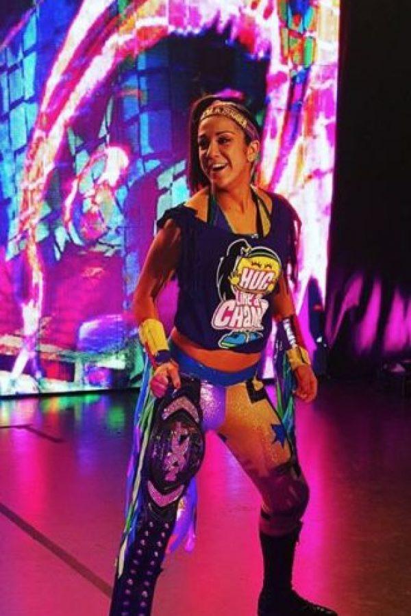 La actual Campeona de NXT sumó 12 triunfos y solo perdió en tres ocasiones Foto:Vía instagram.com/itsmebayley