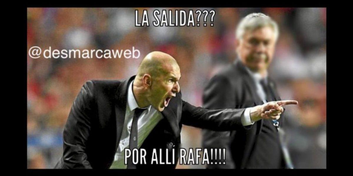 Las mejores burlas por la llegada Zinedine Zidane al banquillo del Real Madrid