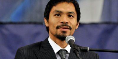 El boxeador dejará el pugilismo para dedicarse a su carrera política en su natal Filipinas. Foto:Getty Images