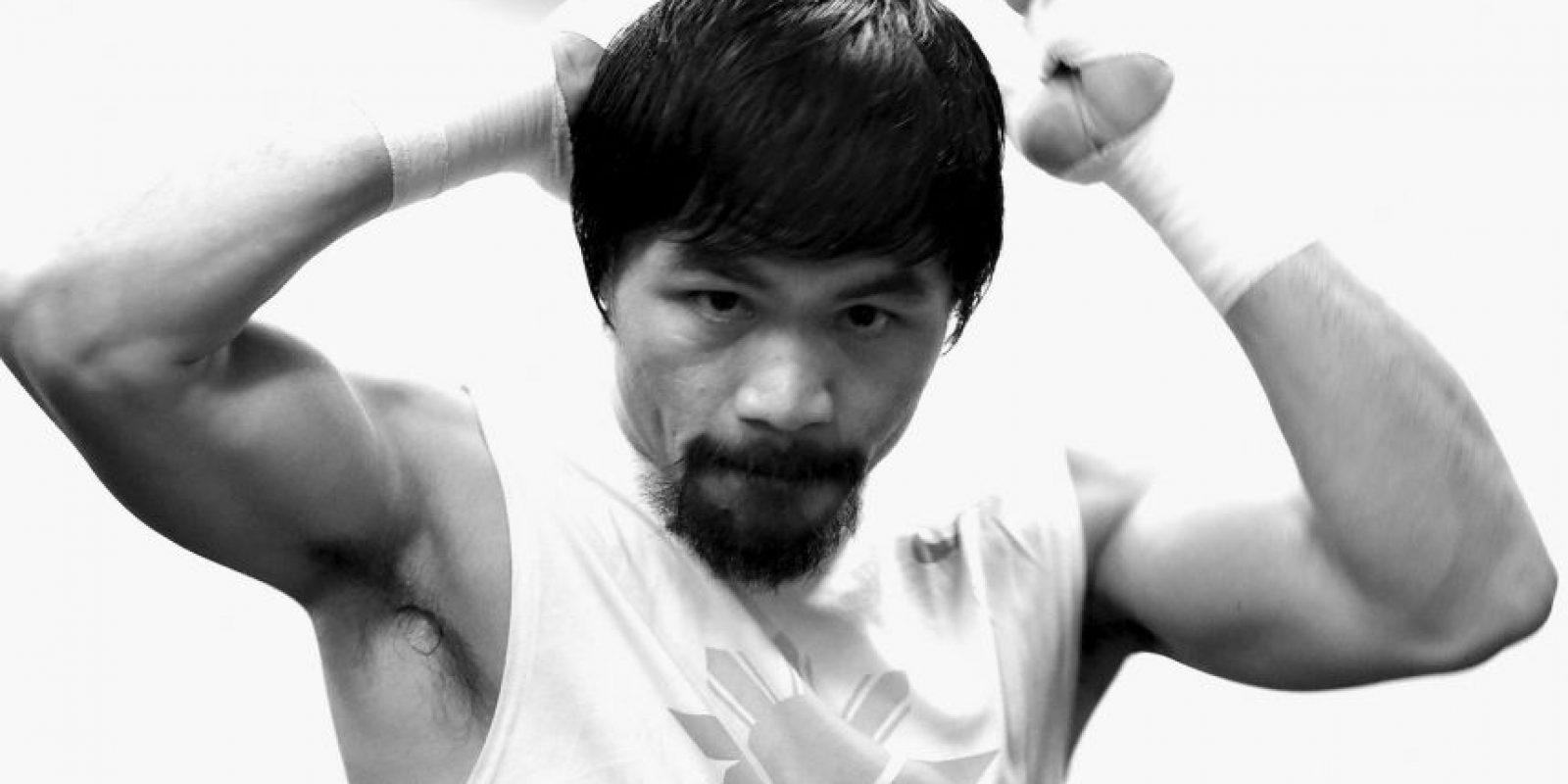 """Es considerado como uno de los mejores boxeadores de la historia, según la revista """"The Ring"""". Foto:Getty Images"""