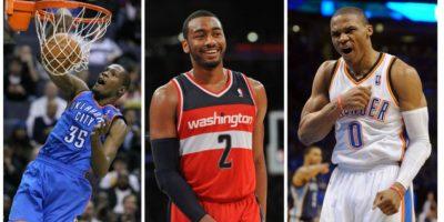 Wall, Westbrook y Durant fueron elegidos Jugadores del Mes en la NBA