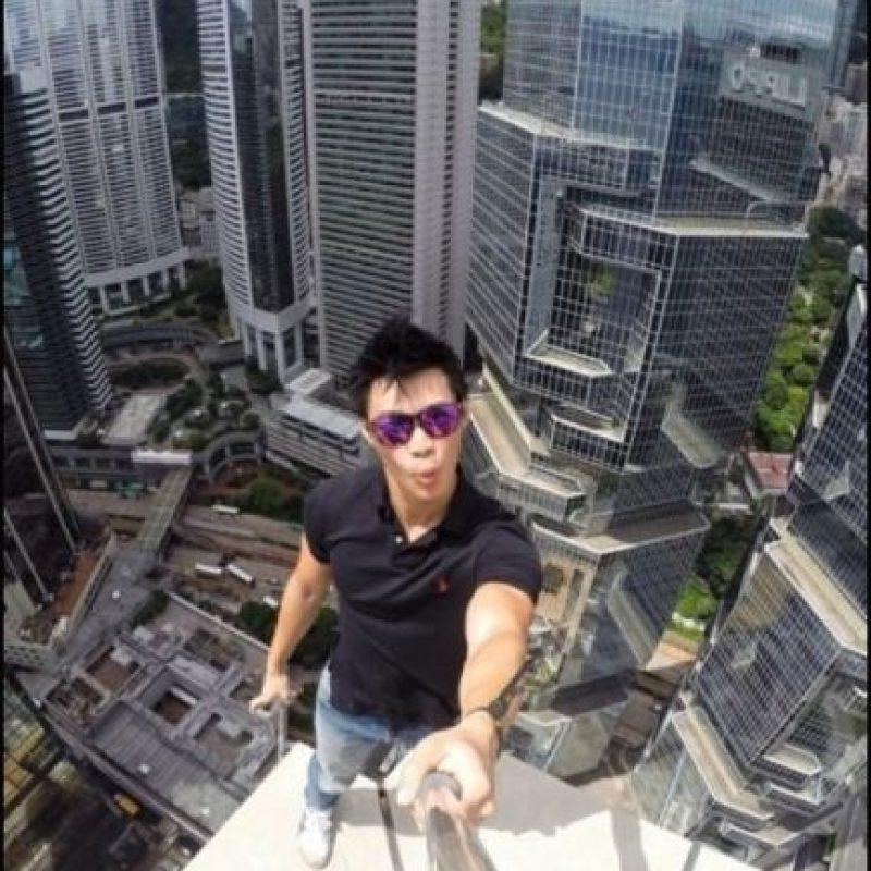 Selfies extremos Foto:Instagram: @daniel__lau