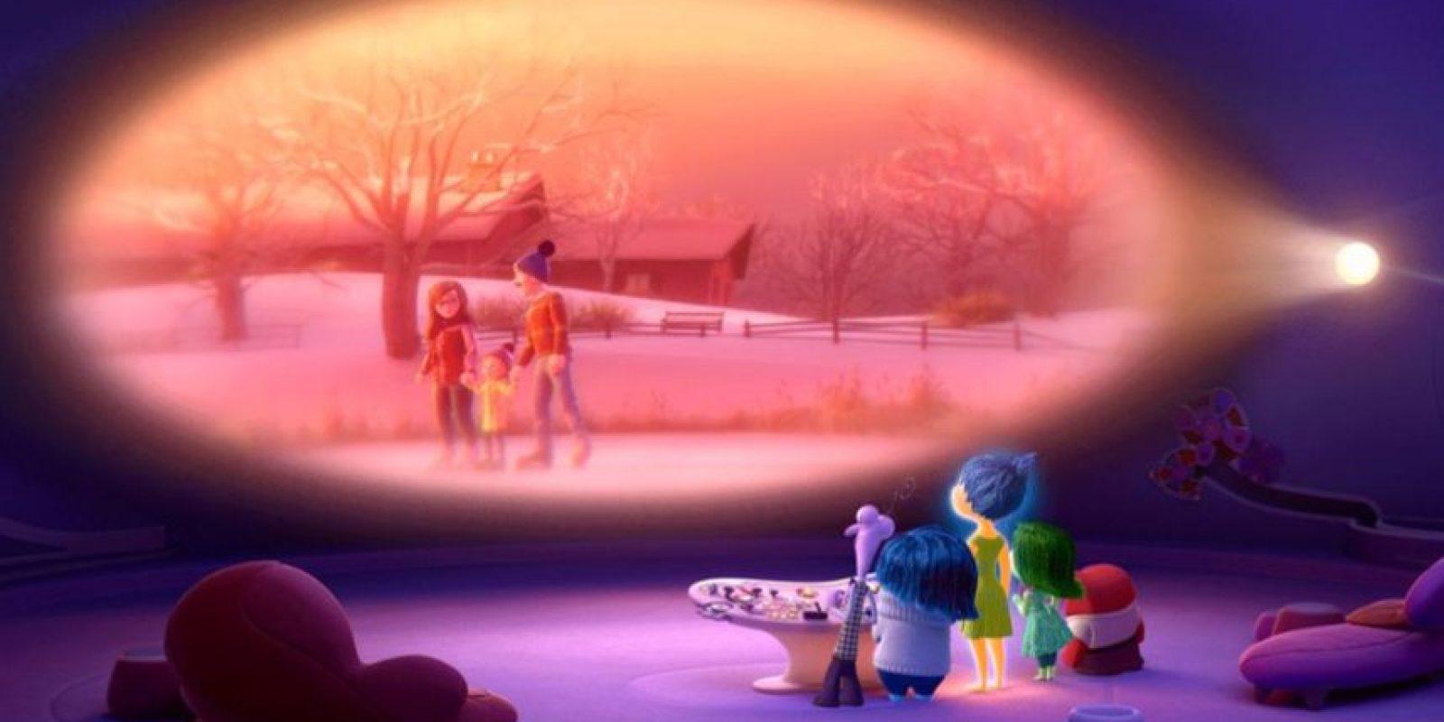 """Con el """"Filtro de la Distorsión Humana"""". Foto:vía Pixar"""