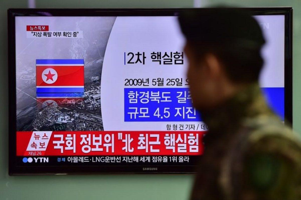 La detonación sucedió a las 10 horas, tiempo local, en el área de Kilju, donde se han llevado otras pruebas nucleares Foto:AFP