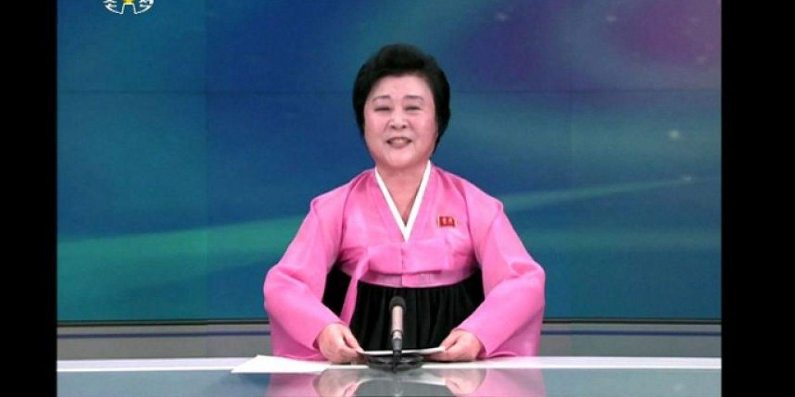 El anuncio se dio a través de la televisora estatal Foto:AFP
